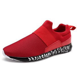 Ericdress Slip-On Patchwork Men's Athletic Shoes