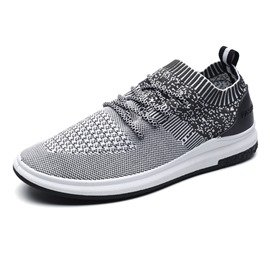 Ericdress Stripe Lace-Up Men's Athletic Shoes