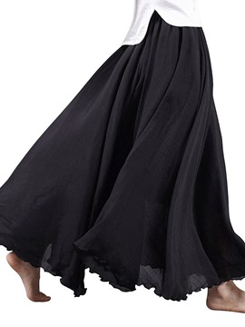 Ericdress Linen Ankle-Length Usual Skirts