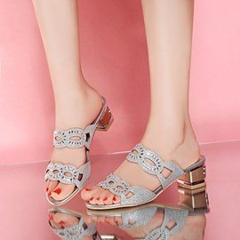 Ericdress Flip Flop Hollow Mules Shoes