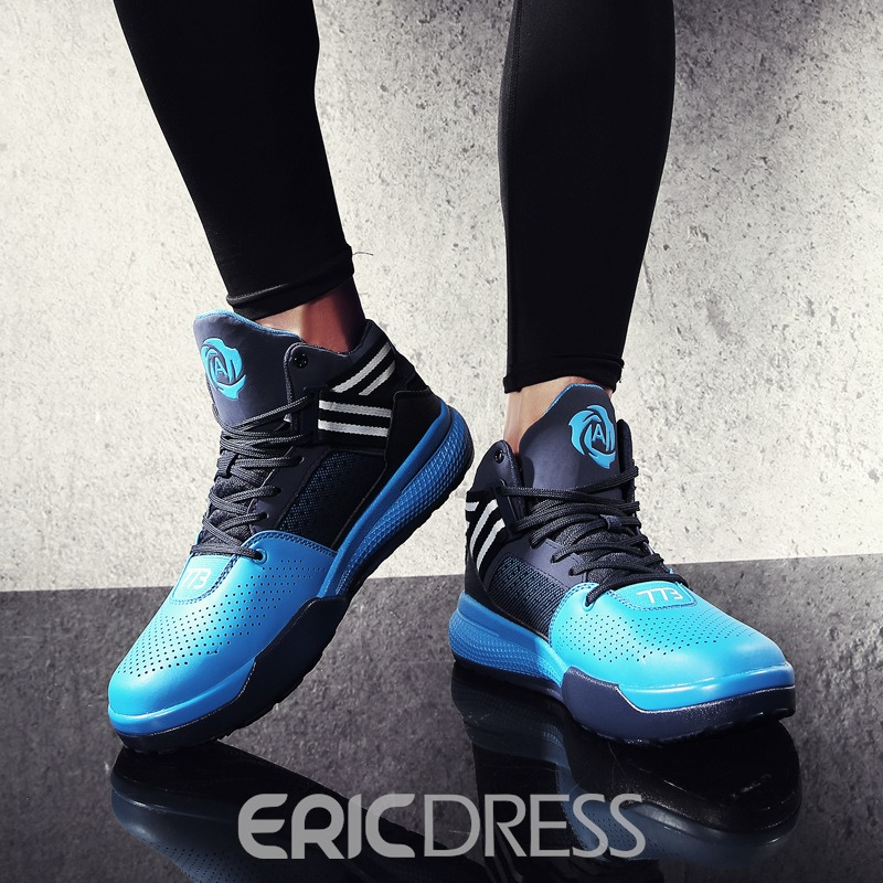 Ericdress Popular Patchwork Lace-Up Men's Athletic Shoes