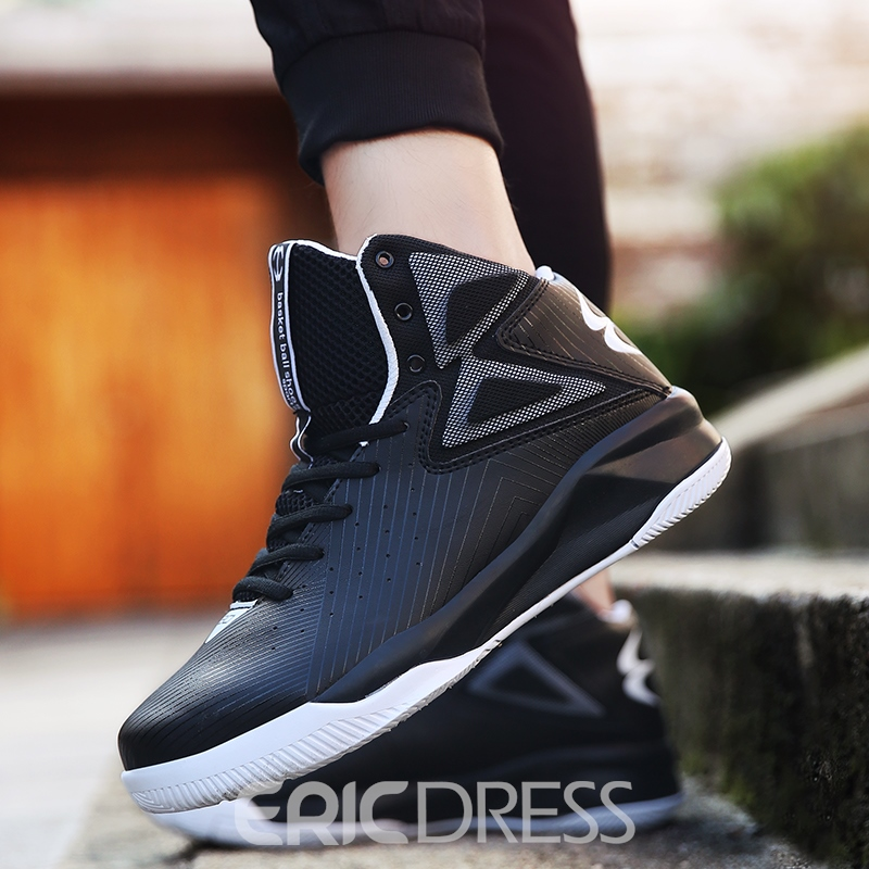 Ericdress Cushioning Mid-Cut Round Toe Men's Athletic Shoes