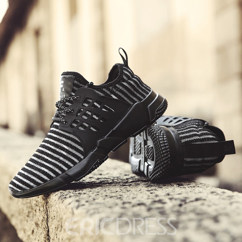 Ericdress Popular Mesh Lace-Up Men's Athletic Shoes
