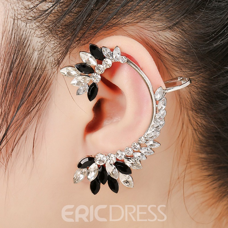 Ericdress Personality Contrast Color Women's Fashion Earring