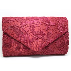 Ericdress Envelope Shape Lace Pattern Evening Clutch фото