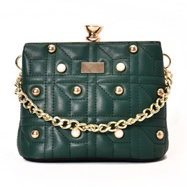 Ericdress Retro Pearl Adornment Chain Crossbody Bag