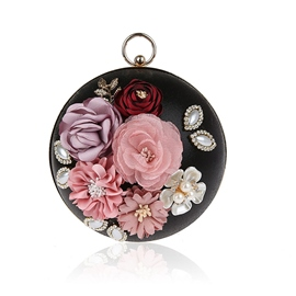 Ericdress Appliques Decoration Women Clutch