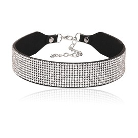 Ericdress European Style Diamante Women's Choker Necklace