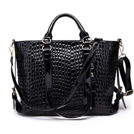 Ericdress All Match Croco-Embossed Women Handbag