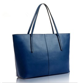 Ericdress Simple Solid Color PU Handbag