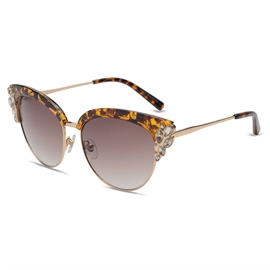 Ericdress Trendy Diamante Women's Sunglass