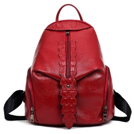 Ericdress occident style croco-geprägter Rucksack