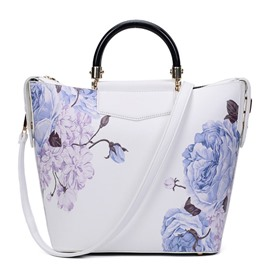 Ericdress Chinese Style Floral Printing Handbag
