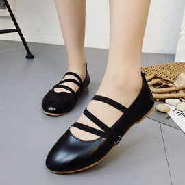 Ericdress Elastic Band Plain Flats