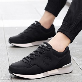 Ericdress Cotton Lace-Up Low-Cut Men's Athletic Shoes