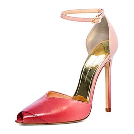 Ericdress Gradient Peep Toe Stiletto Heel Pumps