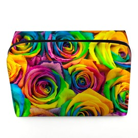 Ericdress Originality 3D Floral Design Cosmetic Bag