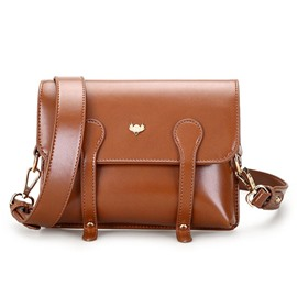 Ericdress Retro Solid Color Women Crossbody Bag