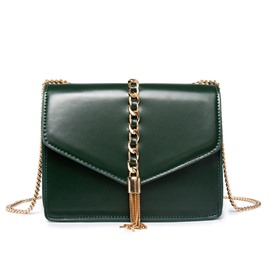 Ericdress solid color metal tassel crossbody Beutel