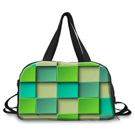 Ericdress Geometric Color Block Women Handbag