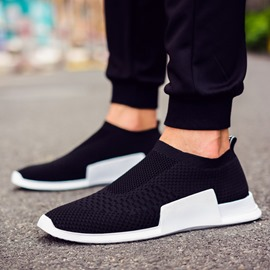 Ericdress Slip-On Plain Men's Sneakers