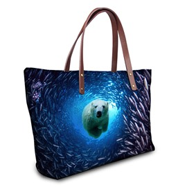 Ericdress Distinctive 3D Animal Printing Women Handbag