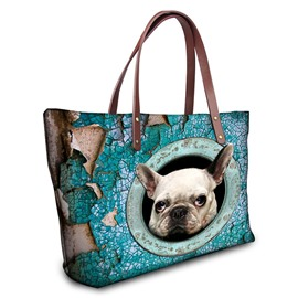 Ericdress 3D Pet Pattern Nylon Waterproof Handbag