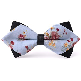 Ericdress British Style Printed Cotton Bow Tie for Gentleman