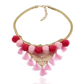 Ericdress Vintage Venonat Tassel Alloy Charm Necklace