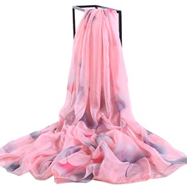 Ericdress Chiffon Printed Summer Long Beach Scarf