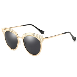 Ericdress Hollow Out Polarized Sunglasses for Women