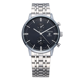 Ericdress Business Steel Watch Band Waterproof Watch