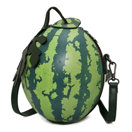 Ericdress Novelty Watermelon Shape Crossbody Bag