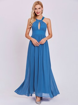 Ericdress Halter Neck A Line Evening Dress