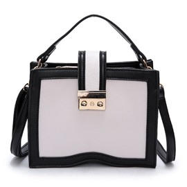 Ericdress Concise Color Block Women Satchel