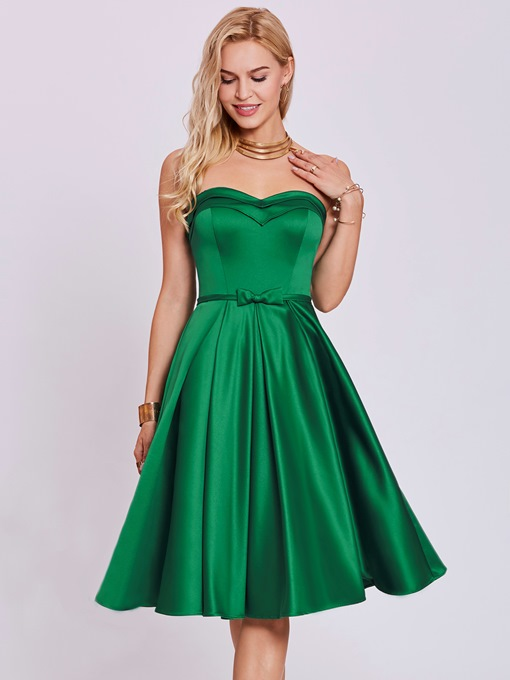 Ericdress Sweetheart Bowknot A Line Homecoming Dress
