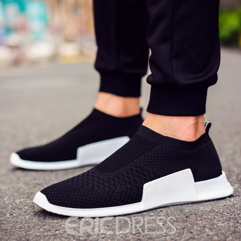 Ericdress Slip-on Plain Mens Sneakers