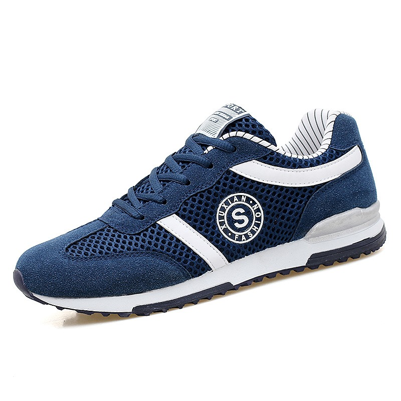 Ericdress Comfortable Color Block Mens Athletic Shoes