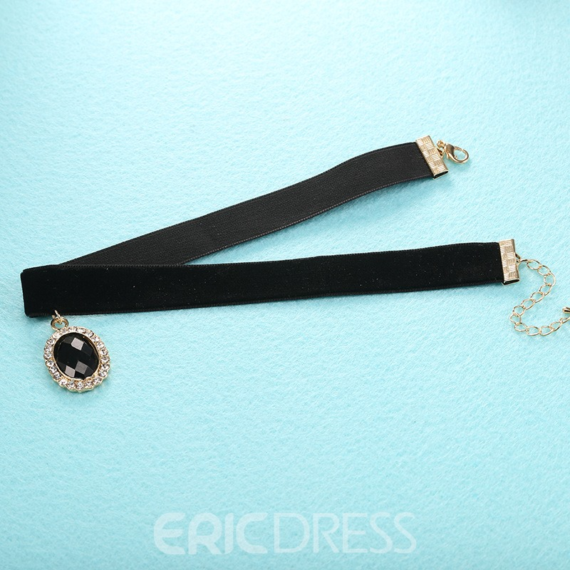 Ericdress European Style Pendant Choker Necklace