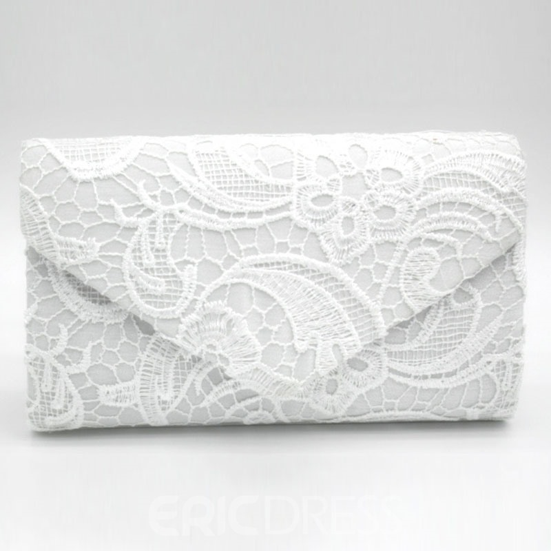 Ericdress Envelope Shape Lace Pattern Evening Clutch