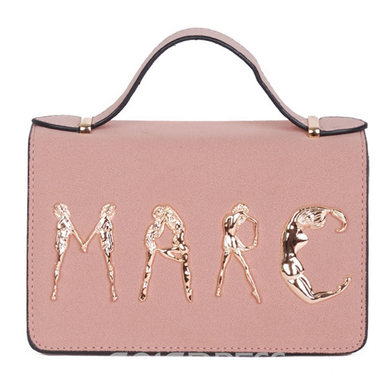 Ericdress Personalized Letter Design Crossbody Bag