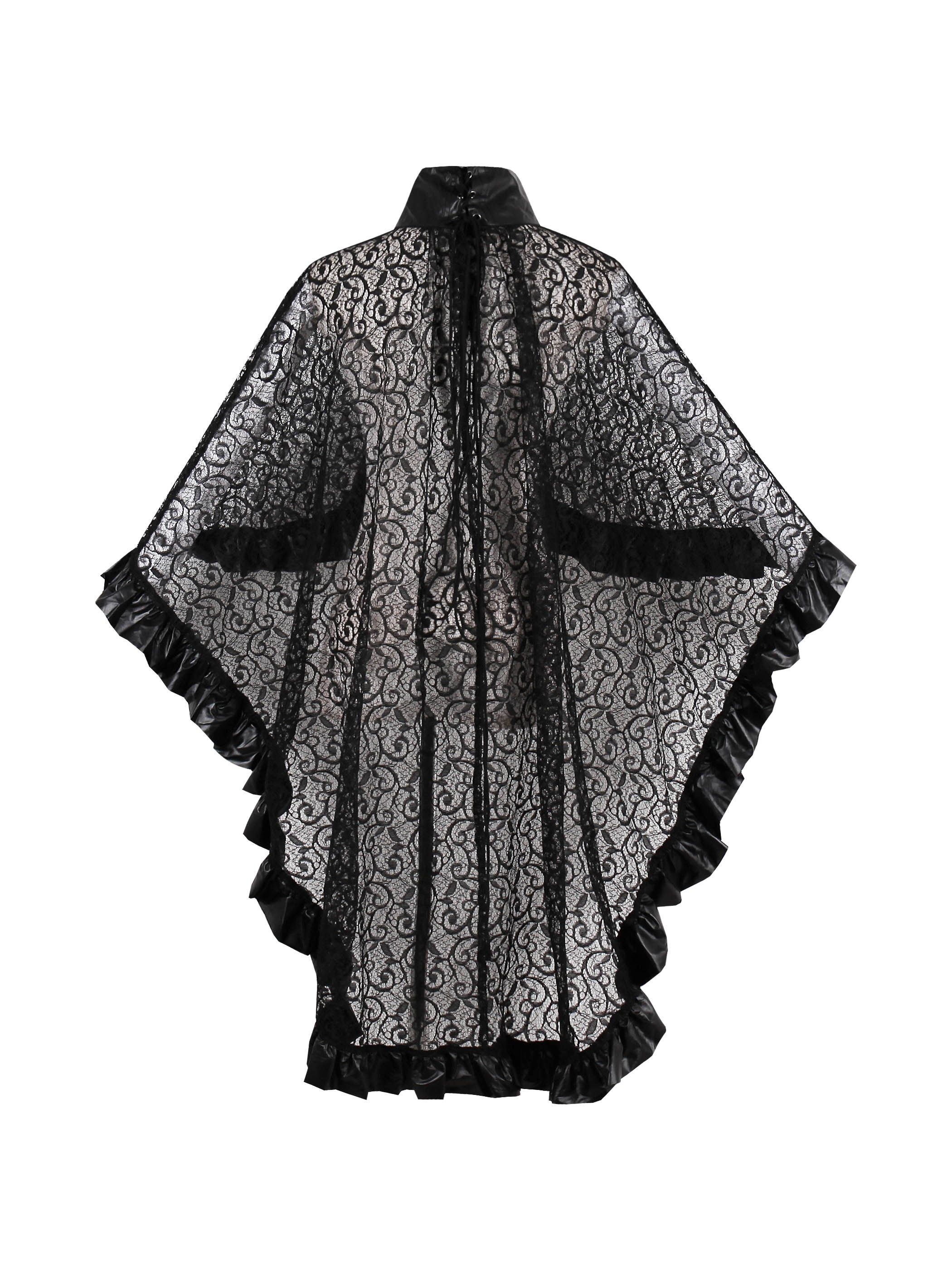 Ericdress Plus-Size Lace Thin See-Through Cape