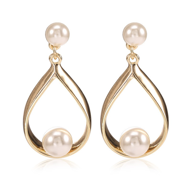 Ericdress OL Style Pearl Earring for Women