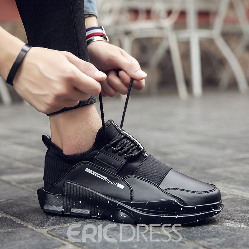 Ericdress Round Toe Plain Low-Cut Men's Athletic Shoes