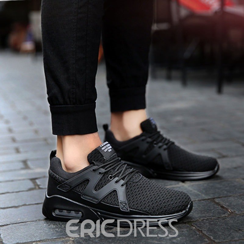 Ericdress Mesh Patchwork Low-Cut Men's Athletic Shoes