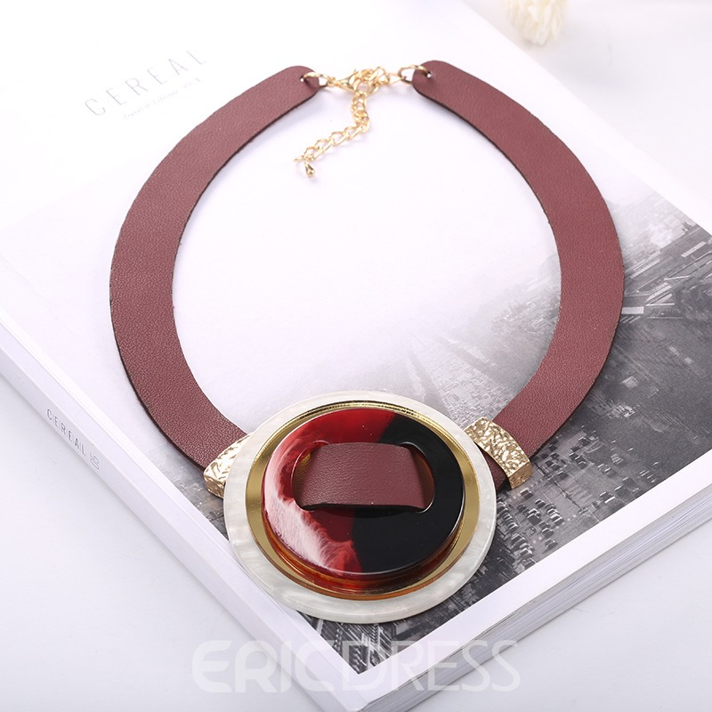 Ericdress Creative Arylic European Style Necklace for Women