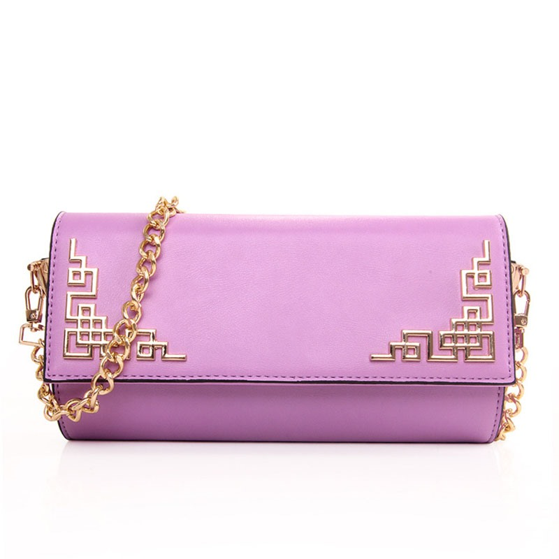 Ericdress Chinese Style Embossed Crossbody Bag