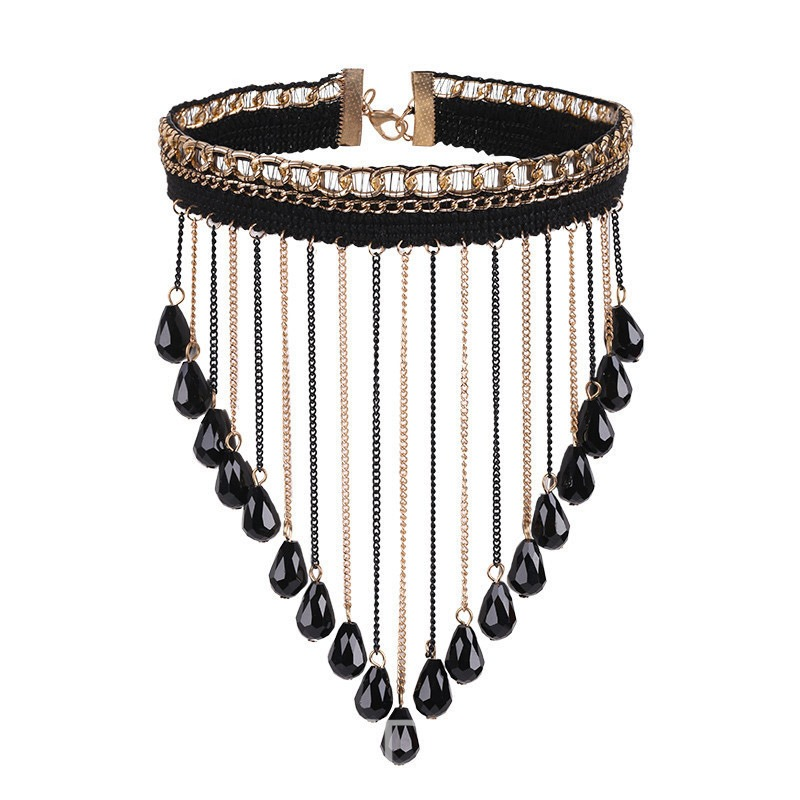 Ericdress Trendy Alloy OL Tassel Necklace for Women