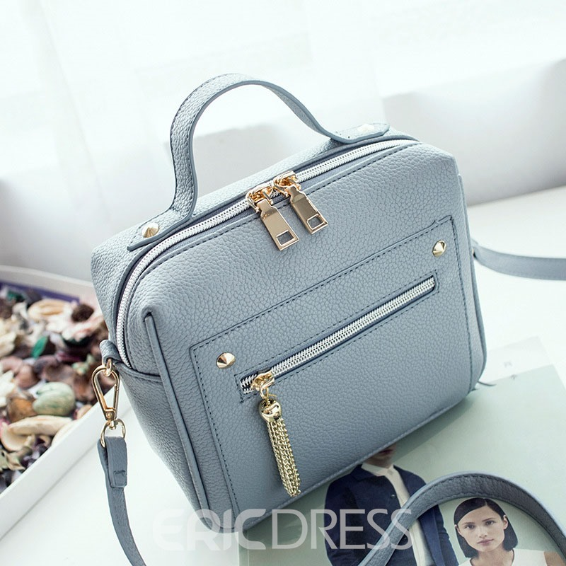 Ericdress Metal Tassel Women Crossbody Bag