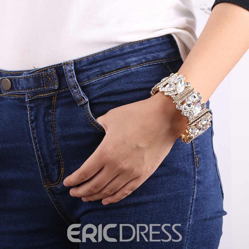 Ericdress Best Seller Diamante Women's Bracelet